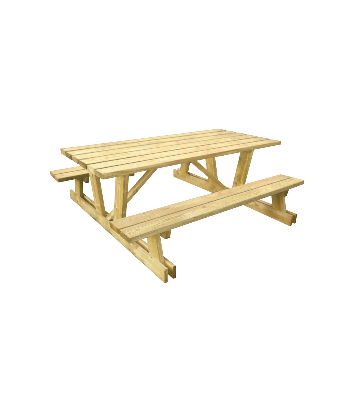 table bois pic nique dortmunt yep. Black Bedroom Furniture Sets. Home Design Ideas