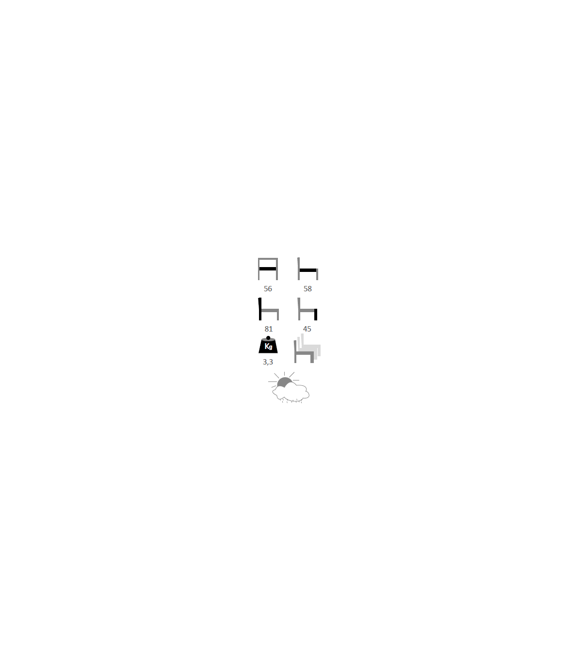 Flex Grenoble fauteuil aluminium grenoble (flex)