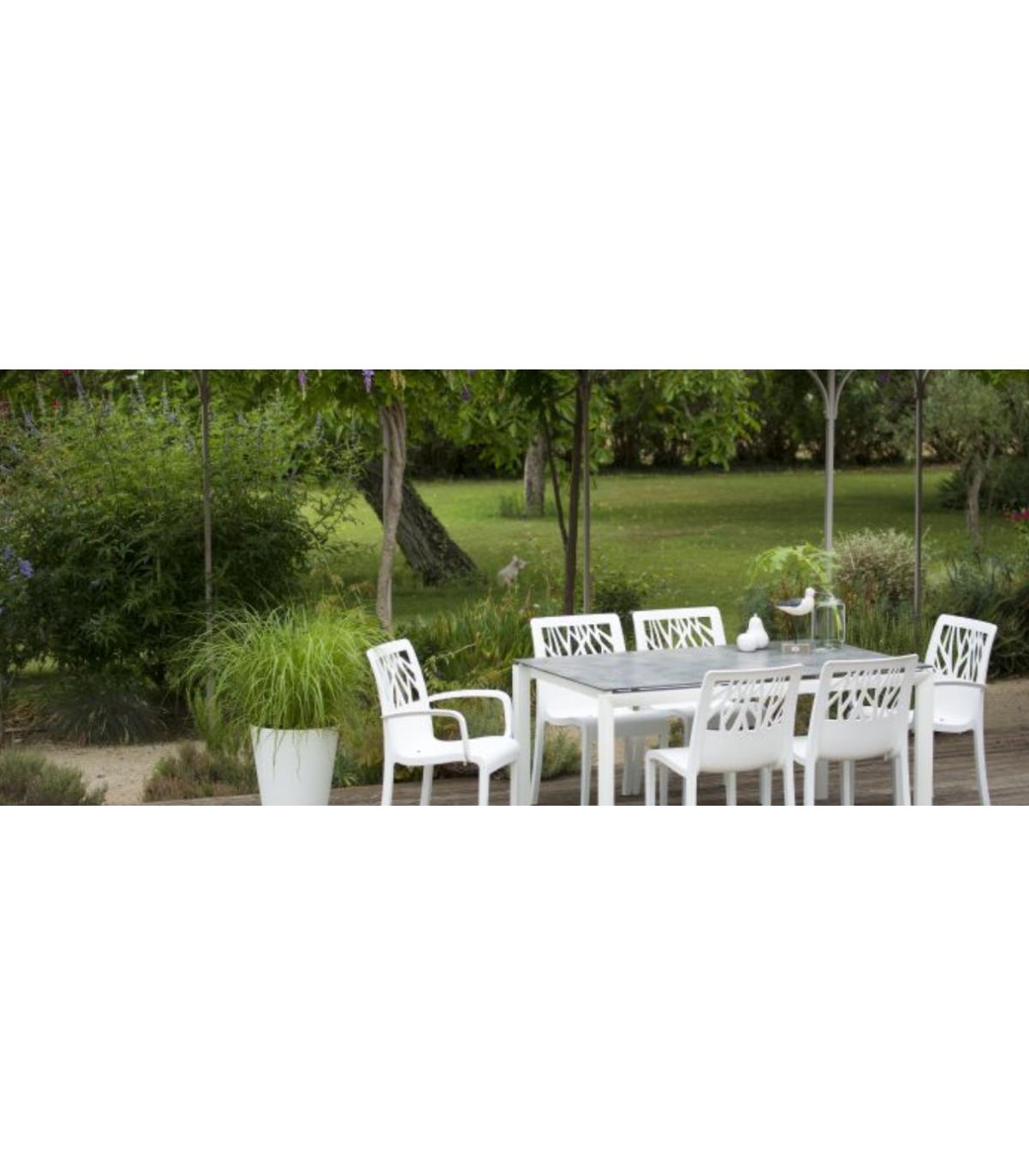 Salon De Jardin Plateau Hpl Sunset Gros Filex  # Salon De Jardin Plateau Hpl